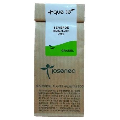 Té verde con hierbaluisa y anís