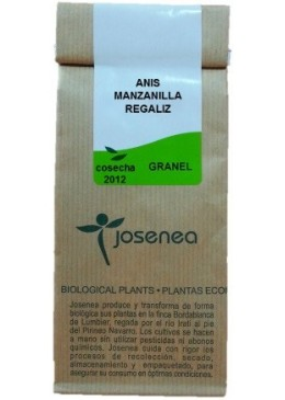 Anís, Manzanilla, Regaliz