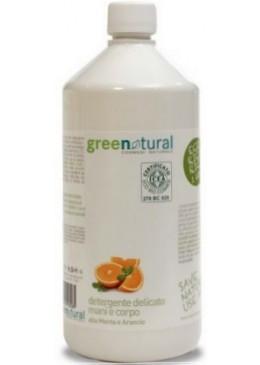 Jabón para manos y cuerpo BIO de menta y naranja