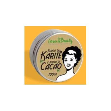 Manteca de karité y cacao