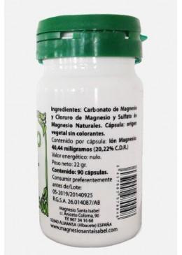 Magnesio Natural Santa Isabel