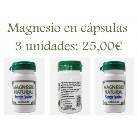 Pack de Magnesio Natural