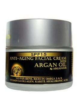 Crema de día Anti-edad Argán
